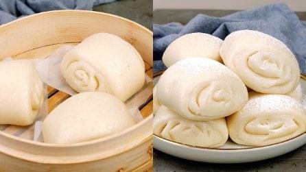 Mantou: i panini al vapore cinesi facilissimi da preparare!