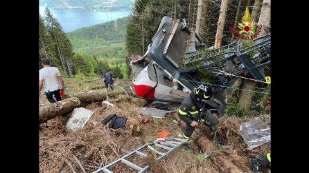 """""""Cabina della funivia è caduta sul Mottarone, che casino"""": la prima telefonata tra 118 e carabinieri"""