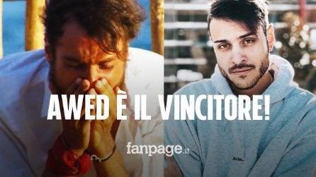 """Awed è il naufrago che ha vinto l'Isola dei famosi 2021, Simone Paciello: """"Non arrendetevi mai"""""""