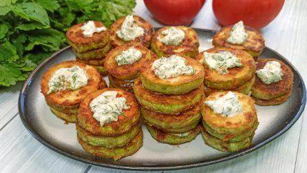 Tartine di zucchine: la ricetta del contorno davvero saporito