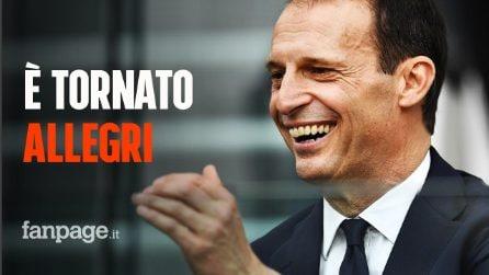 """Massimiliano Allegri è il nuovo allenatore della Juventus: """"Bentornato a casa"""""""