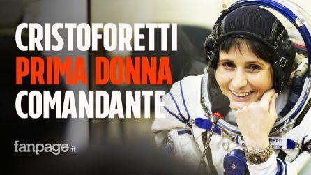 Samantha Cristoforetti sarà la prima donna europea comandante della Stazione Spaziale Internazionale