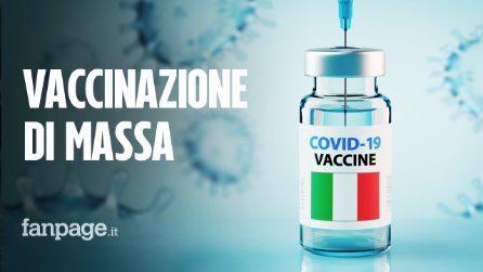 Dal 3 giugno vaccinazione di massa, via le fasce d'età: potrà riceverlo chiunque