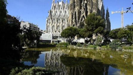 Riapre la Sagrada Familia a Barcellona dopo 8 mesi di stop