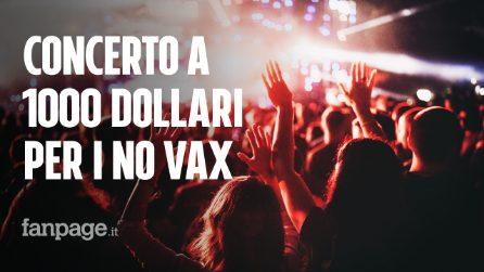 Concerto a 18 dollari per i vaccinati Covid, a 1000 per chi non lo è: il caso in Florida