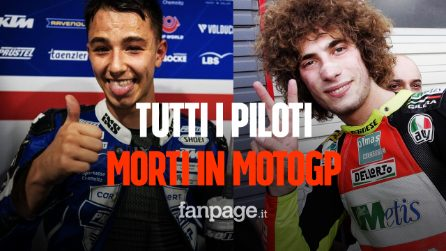 Tutti i piloti morti in MotoGp: da Dupasquier a Marco Simoncelli, tutte le vittime del Motomondiale