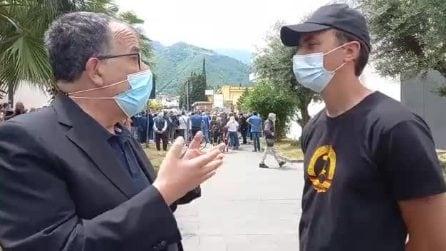 L'artista e il giornalista-senatore: Sandro Ruotolo intervista Jorit