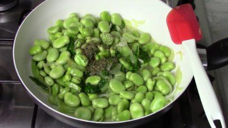 Fave in padella: la ricetta semplice per averle davvero gustose