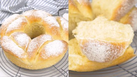 Milk bread: how to make it fluffy and light!