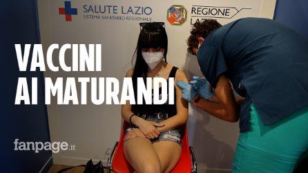 """Roma, partono le vaccinazioni ai maturandi: """"Studenti consapevoli della loro scelta"""""""