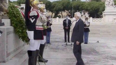 2 giugno, il presidente Mattarella rende omaggio ai Caduti