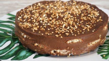Torta fredda di biscotti: il dessert senza cottura cremoso e goloso