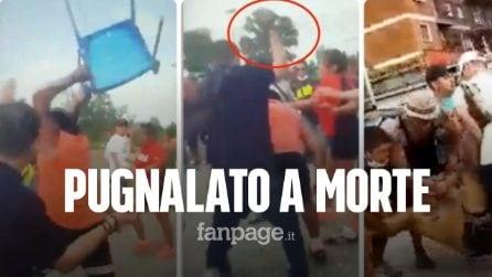 Pugnalato a morte in una rissa: un video riprende i drammatici istanti dell'omicidio di Adrian Silva