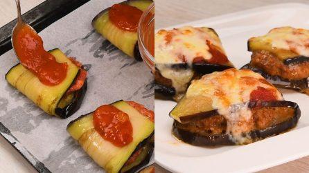 Involtini di melanzane al forno: veloci e gustose!
