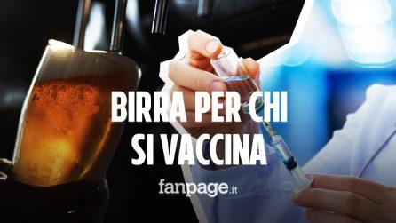 Messina, birra a 50 centesimi per chi si vaccina: l'iniziativa dell'hub Fiera