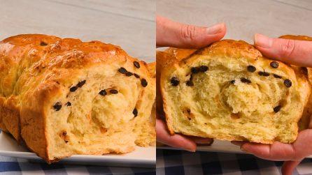 Pan brioche con gocce di cioccolato: per una merenda soffice e profumata!