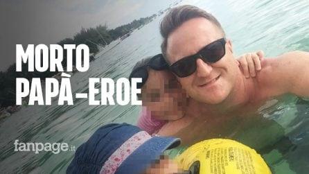 Le figlie stanno affogando in mare e le salva, ma ha un infarto: morto papà-eroe di 45 anni