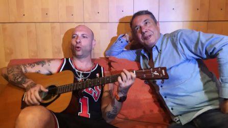 Federico Salvatore con Clementino e la versione rivisitata di 'Azz'