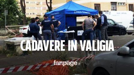 """Cadavere in una valigia a Roma, la moglie: """"Morto in casa da una settimana, me ne sono liberata"""""""
