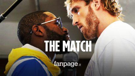 Floyd Mayweather VS Logan Paul: il campione e lo youtuber sul ring in uno show travestito da boxe