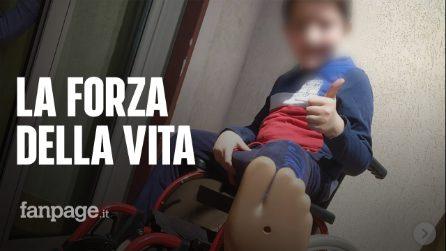 """Andrea, il bimbo di 9 anni senza gambe: """"Dopo l'amputazione sorrideva, non si è mai lamentato"""""""