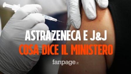 AstraZeneca e Johnson&Johnson, cosa dice la circolare del Ministero sull'utilizzo di questi vaccini