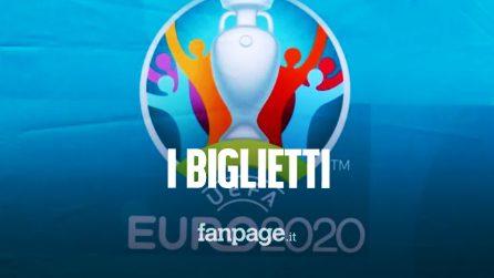 Come comprare e quanto costano i biglietti per l'Italia agli Europei 2021