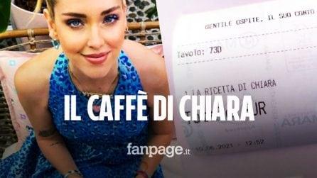 Quanto costa il caffè di Chiara Ferragni nel temporary bar di Milano