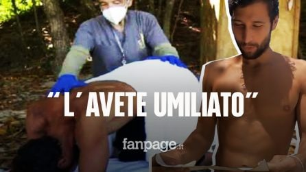 Clistere in diretta a Gianmarco Onestini, il video imbarazzante di Supervivientes