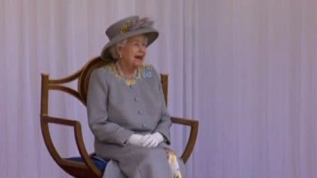 A Windsor la festa ufficiale per il 95esimo compleanno della regina Elisabetta II