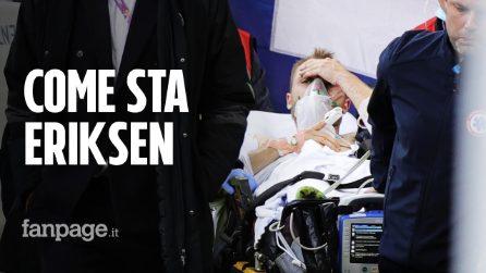 """Come sta Christian Eriksen, malore in campo durante Danimarca-Finlandia: """"Christian è sveglio"""""""