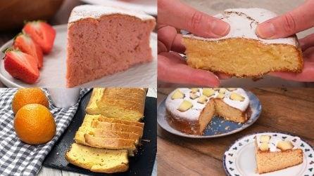 4 torte realizzate con frutta frullata: facili e saporite!