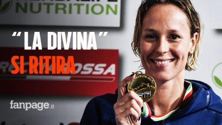 """Federica Pellegrini annuncia il ritiro: """"Non chiuderò la carriera alle Olimpiadi di Tokyo"""""""
