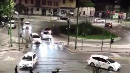 Notte di rissa e violenza a Milano: ferito un rider, fermate tre persone