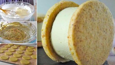 Biscotti gelato al pistacchio: la ricetta golosa che conquisterà tutti