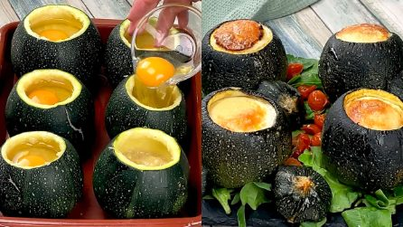 Zucchine tonde ripiene: la ricetta perfetta per una cena piena di gusto!
