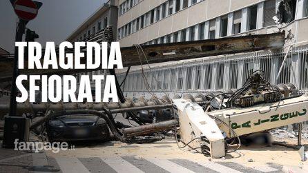 """Milano, trivella si abbatte su un palazzo: """"È entrata nel mio ufficio, ho urlato al collega scappa"""""""