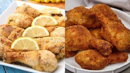 3 ricette facili e saporite per preparare le cosce di pollo!