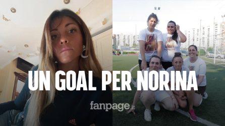 """Un goal per Norina Matuozzo, uccisa dal marito davanti ai figli: """"Donne, denunciate per rinascere"""""""