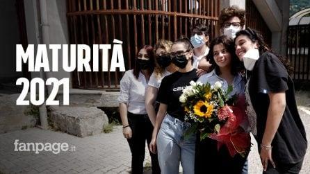 """Esami di maturità 2021 in Campania: """"È stato un anno complicato. Ma finalmente siamo in presenza"""""""