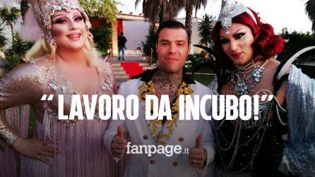 """""""Un set da incubo, chiamate trans e messe in ombra"""": Drag Queen apparsa in """"Mille"""" scrive a Fedez"""