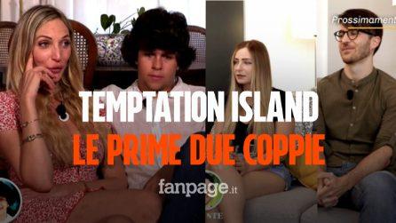 Temptation Island 2021, le prime due coppie: chi sono Valentina e Tommaso e Claudia e Ste