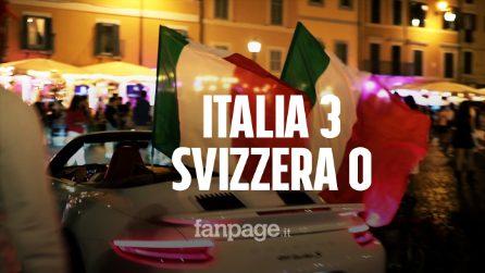 L'Italia batte la Svizzera e va agli ottavi: Campo de Fiori blindata, controlli serrati