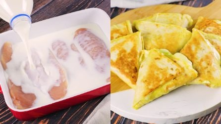 Piadina cones: quick and very easy to prepare!
