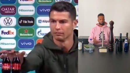 """Evra """"prende in giro"""" Cristiano Ronaldo e Pogba che mettono via Coca Cola e birra"""