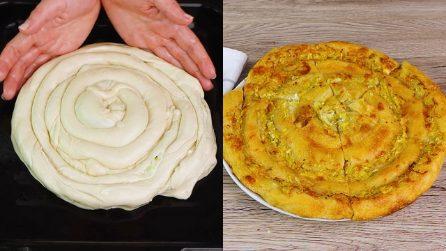 Girella rustica alle zucchine: il piatto saporito che andrà a ruba!