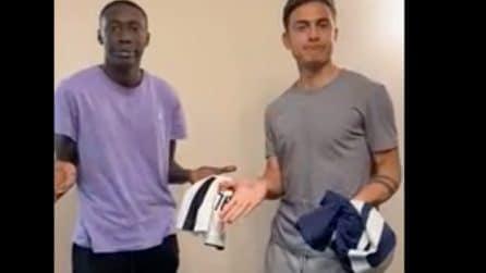 Khaby Lame con Dybala: il video del tiktoker con l'attaccante della Juventus