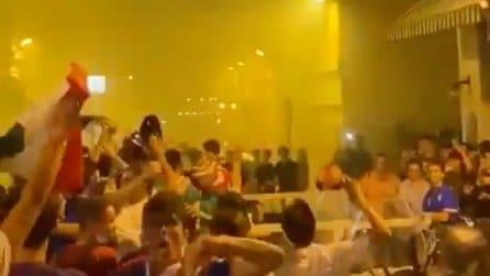 """""""Italia torna campione"""", esplode la gioia dei tifosi dopo la vittoria sul Belgio"""