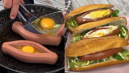 Barchette di wurstel con uova: il modo originale per servire un piatto appetitoso!