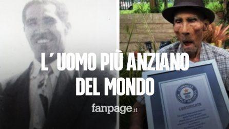 Chi è Emilio Flores Márquez, l'uomo più anziano del mondo che ha 112 anni